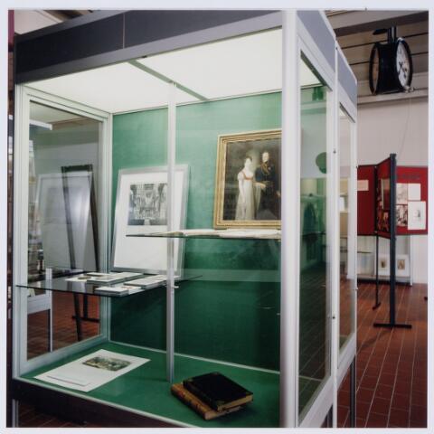 049246 - Tentoonstelling van Willem II t.g.v. zijn 150e sterfdag in 1999. Regionaal archief Tilburg, Kazernehof 75