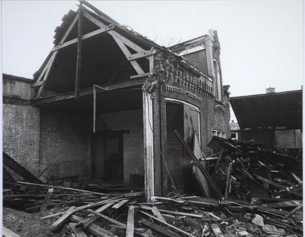 025505 - Pand van de voormalige wijnhandel Verbunt aan de Langestraat ten tijde van de sloop begin 1978