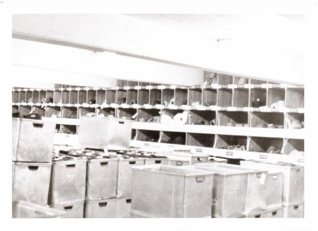 038000 - Textiel. Garenmagazijn van wollenstoffenfabriek A & N Mutsaerts aan de Pironstraat