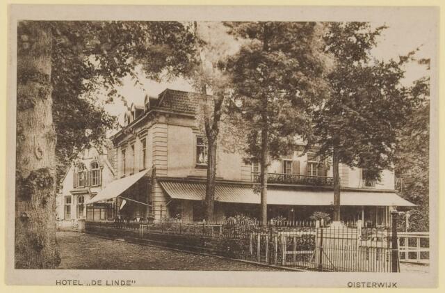 074503 - De Lind. Hotel De Linde te Oisterwijk