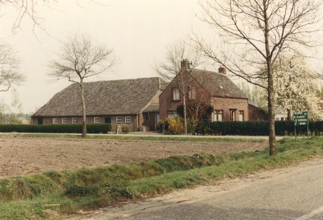 650836 - Gebied waar de latere woonwijk 'De Reeshof' is gebouwd.