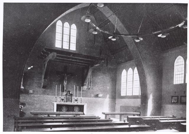 016786 - Mariëngaarde. Interieur van de kapel van pension Mariëngaarde