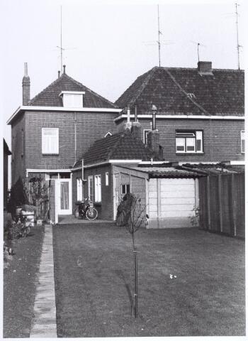 017800 - Achterzijde van het pand Rielseweg 154 (thans Dr. Hub. van Doorneweg) eind 1968