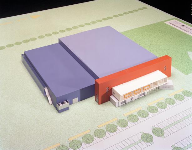 D-001017-2 - Maquette IJssporthal Stappegoor (Architectenbureau Bollen)