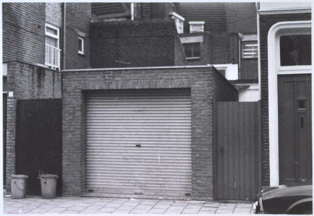 024398 - Garage in de Korte Nieuwstraat anno 1971