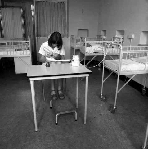 655787 - Elizabeth Ziekenhuis locatie Jan van Beverwijckstraat Tilburg in 1981.