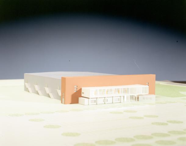 D-001014-1 - Maquette IJssporthal Stappegoor (Architectenbureau Bollen)