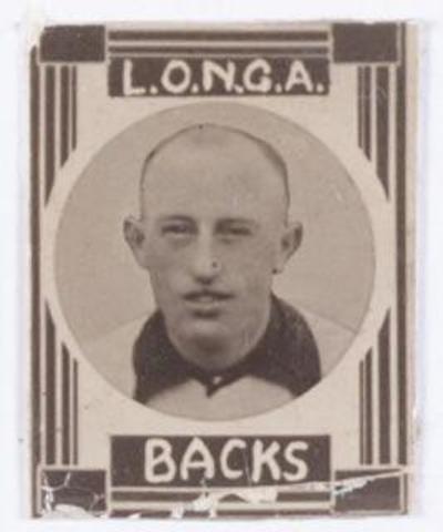 054140 - Sport. Voetbal. Longa. In de jaren dertig werden deze  voetbalplaatjes uitgegeven als reclame.
