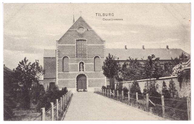 001542 - Korvelseweg, voorgevel van de kapucijnenkerk.