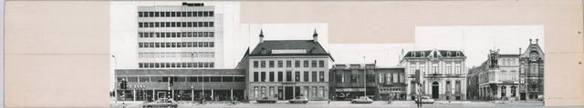 1625_0108 - Fotostrook; straatwand; panden aan de linten en hoofdverbindingswegen in het centrum van de stad; vanaf … - hoek AMRO bank; foto's werden tussen 1976 en 1985 gemaakt. (foto gemaakt in periode 1976-1985)