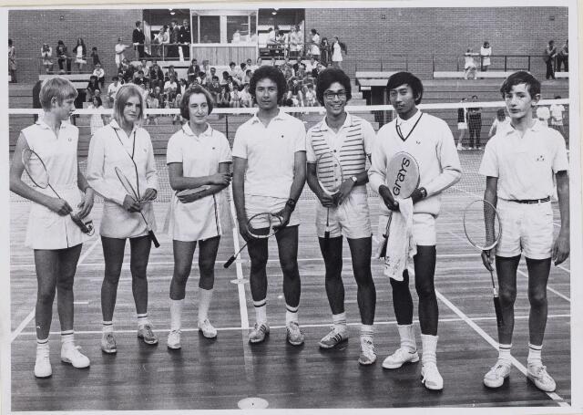 100637 - Verenigingen.Sport. Badminton. Districtskampioenschappen.