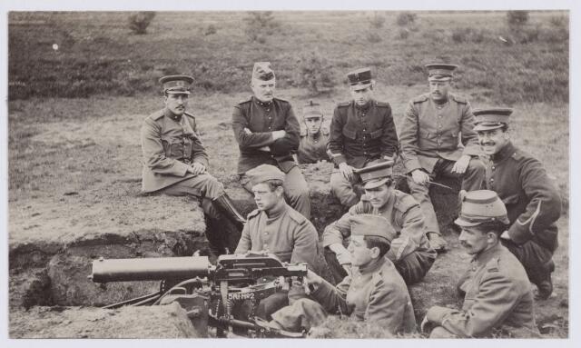 053665 - Eerste wereldoorlog 1914-1918. Activiteiten/materieel.