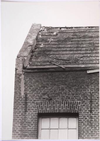 030896 - De Schoolstraat. Kaardenfabriek. (foto gemaakt in periode 1972-1980)
