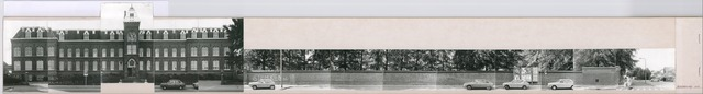 1625_0041 - Fotostrook; straatwand; panden aan de linten en hoofdverbindingswegen in het centrum van de stad; klooster Rooi Harten; foto's werden tussen 1976 en 1985 gemaakt.