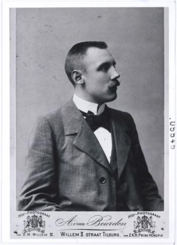 005545 - Jacobus G.C.J. van Roessel, zie brouwerij van Roessel (reproductie; origineel niet in collectie aanwezig)