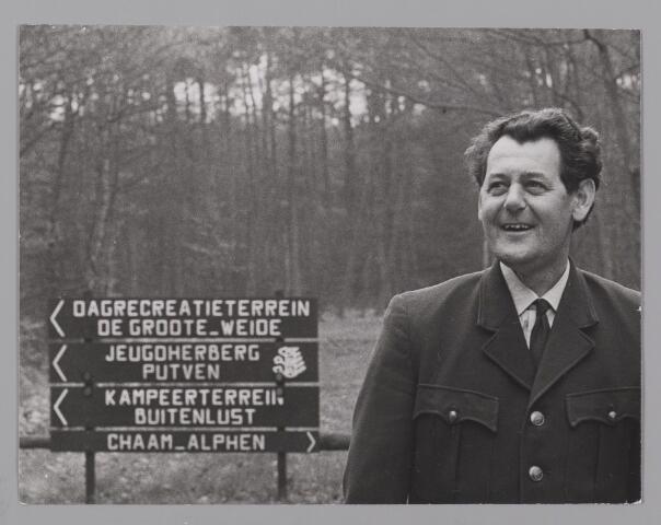 083500 - De Heer Wim Peeters, boswachter