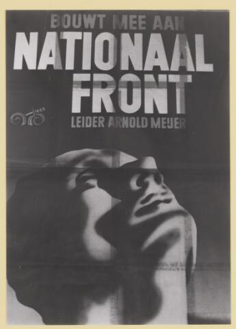 077339 - Affiche Zwart Front 1934-1941