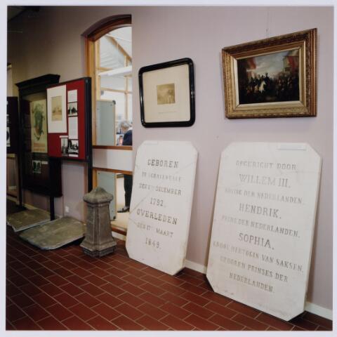 049240 - Tentoonstelling van Willem II t.g.v. zijn 150e sterfdag in 1999. Regionaal archief Tilburg, Kazernehof 75