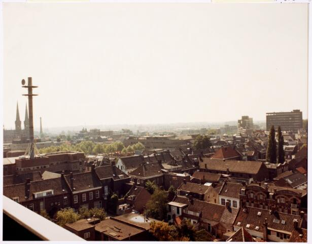 036654 - Panorama van Tilburg vanaf de flat aan de Spoorlaan 392