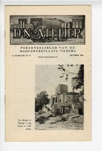 604318 - D´n Atelier, maandblad. Personeelsblad van de NS werkplaats te Tilburg.