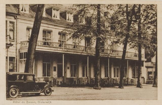 074519 - De Lind. Hotel de Zwaan.