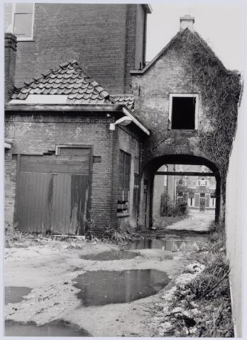 049235 - De Norbertijnenpoort tijdens de restauratie. Norbertijnerpoort.