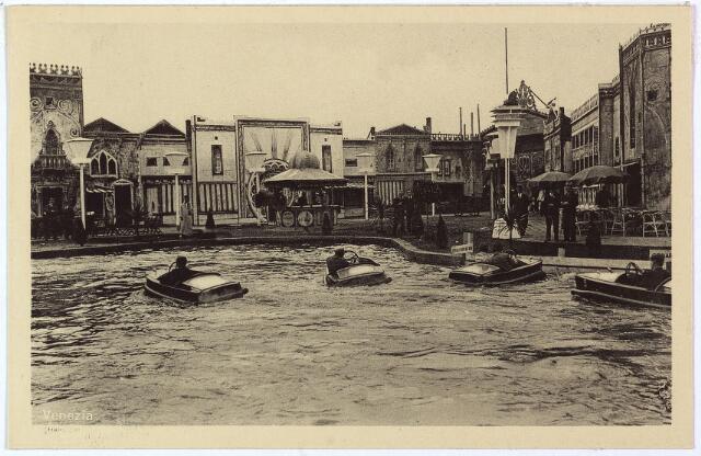 003342 - Attractieterrein Venezia op de Internationale Tentoonstelling Stad Tilburg 1934.