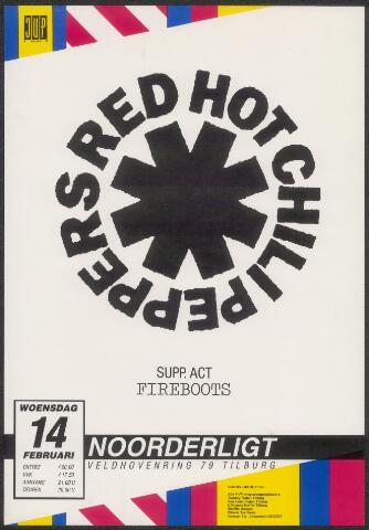 650254 - Noorderligt. Red Hot Chili Peppers. Support act:  Fireboots