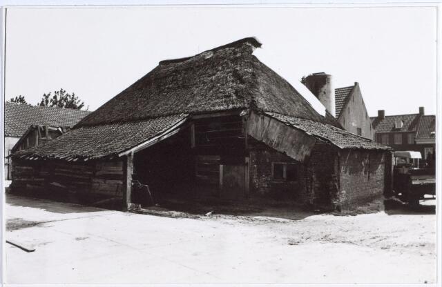 014706 - Achterzijde van een boerderij aan de Berkdijksestraat