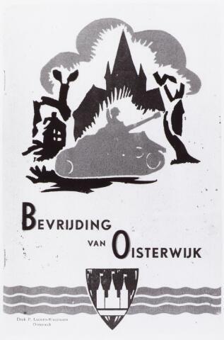 057733 - Tweede Wereldoorlog. Bevrijding. 1940-1945. Omslag boekje t.g.v. de bevrijding van Oisterwijk.