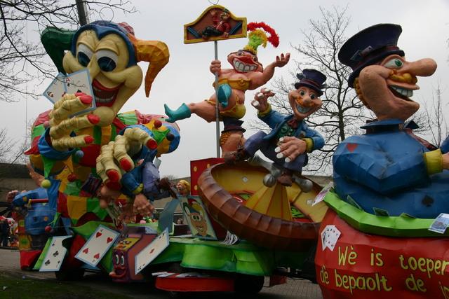 657268 - Carnaval. Optocht. D'n Opstoet van Tilburg in 2007.