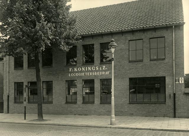 602698 - Bedrijfspand van Fa. Konings & zonen Loodgietersbedrijf