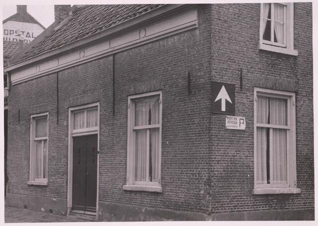 030917 - Schoolstraat.Pand no 58.