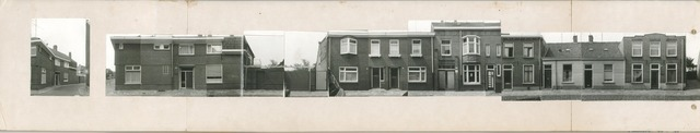 1625_0251 - Fotostrook; straatwand; panden aan de linten en hoofdverbindingswegen in het centrum van de stad;
