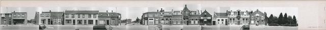 1625_0195 - Fotostrook; straatwand; panden aan de linten en hoofdverbindingswegen in het centrum van de stad; Lange Nieuwstraat 51-271; foto's werden tussen 1976 en 1985 gemaakt.