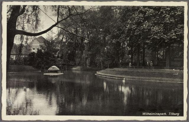010452 - Vijver in het Wilhelminapark.