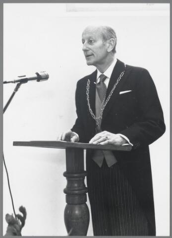 88922 - Burgemeester L.E.D. von Bonninghausen tot Herinckhave, burgemeester van Terheijden