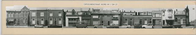 1625_0056 - Fotostrook; straatwand; panden aan de linten en hoofdverbindingswegen in het centrum van de stad; Capucijnenstraat 1-225; foto's werden tussen 1976 en 1985 gemaakt. (foto gemaakt in periode 1976-1985)