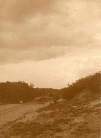 600799 - Landschap in de omgeving van Loon op Zand. Duinen en bossen.Kasteel Loon op Zand. Families Verheyen, Kolfschoten en Van Stratum