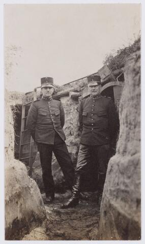 053580 - Mobilisatie. Eerste Wereldoorlog 1914 - 1918; Loopgraven
