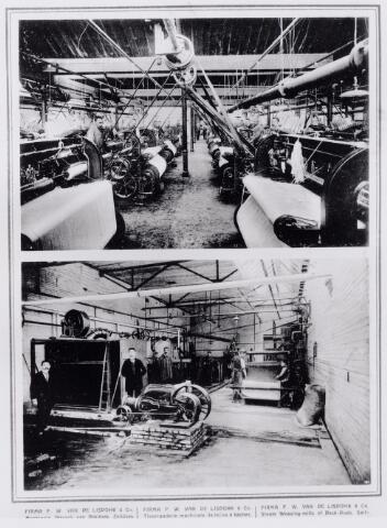 045780 - Textielindustrie. Textielfabriek firma P.W. van de Lisdonk. Zie ook nr. 45775.