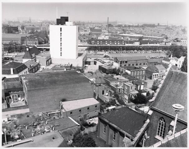 036394 - Panorama van Tilburg vanaf de toren van de Heuvelse kerk;