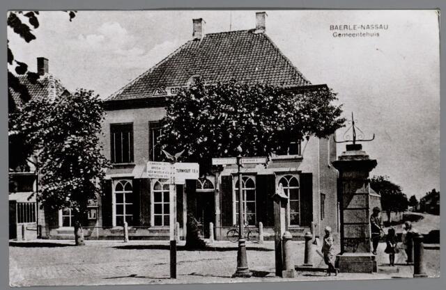 065619 - Gemeentehuis van Baarle-Nassau aan de Singel