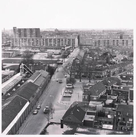 036728 - Panorama van Tilburg vanaf de watertoren