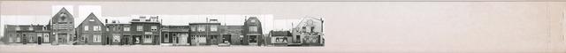 1625_0138 - Fotostrook; straatwand; panden aan de linten en hoofdverbindingswegen in het centrum van de stad; ; foto's werden tussen 1976 en 1985 gemaakt. (foto gemaakt in periode 1976-1985)