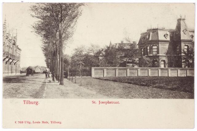 001333 - St. Josephstraat, rechts de villa van L.E. van den Bergh