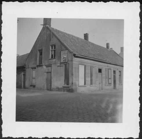 653389 - Verdwenen stadsgezichten, Tilburg. Oude panden waarvan het merendeel werd gesloopt in de loop van de  jaren 50 van de vorige eeuw.