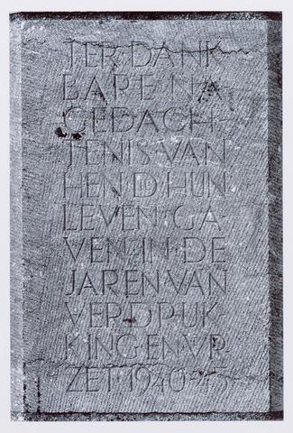 044658 - Oorlogs- en herdenkingsmonument.
