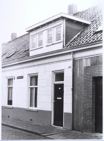 022647 - Pand Hoogtedwarsstraat 14 begin 1973