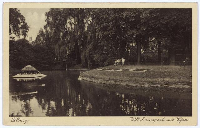 002950 - Vijver in het Wilhelminapark.
